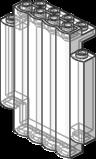 'Panel 2 x 5 x 6 Log Wall