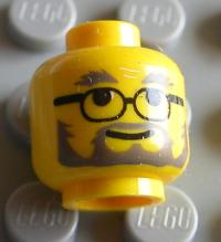Girl w//White Teeth Smile Red Lips Lip Stick NEW Lego City FEMALE MINIFIG HEAD