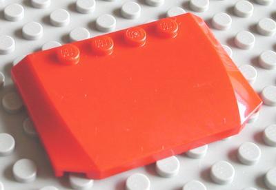 LEGO 52031 Green Wedge 4 x 6 x 2//3 Triple Curved