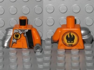 LEGO Castle Fantasy Era Gold Crown Minifig Torso Body Part