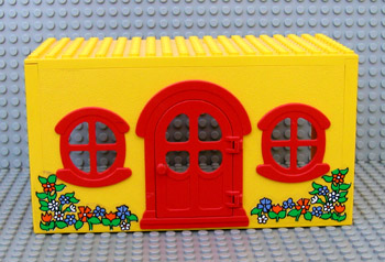 Sets That Have X661c01 Fabuland House Block With Red Door And Windows