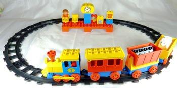 Peeron Push Along Express Train Set 2701 1