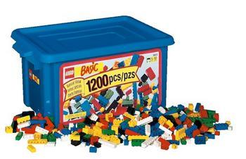 Peeron: Unnamed 1200-piece brick tub (#3033-1)