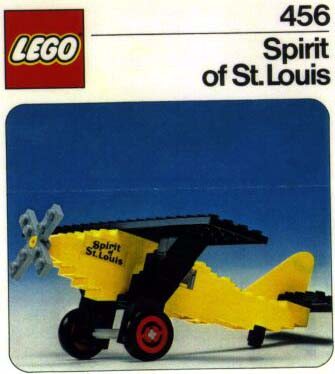 456 Spirit of St Louis - image courtesy Peeron