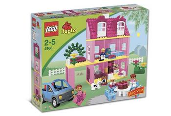 New Lego Duplo Windows With White Hinges For Lego Duplo Ville Houses Pink Piece