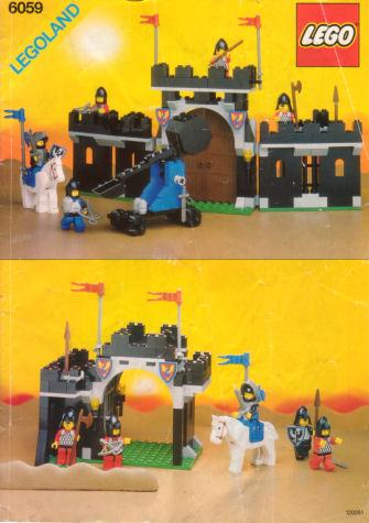 [LEGO] : MOYEN-AGE + liens 6059-1.1121278375