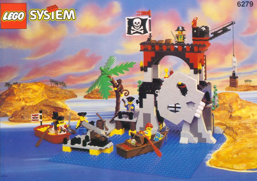 пиратский остров лего инструкция
