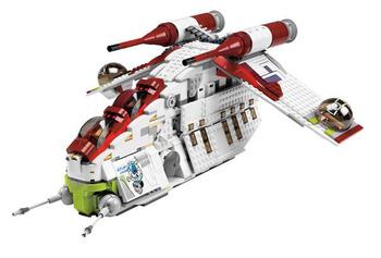 1 x 3032 mdstone from 7676 Republic Gunship lego star wars