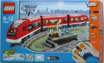 Lego City Passenger Train 7938 Set Picture