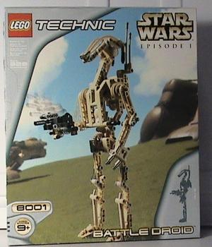 Peeron Battle Droid   Star Wars Battle Droid 80011
